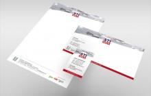 STI Genlis - Papeterie : cartes de visite, carte longue, papier en-tête
