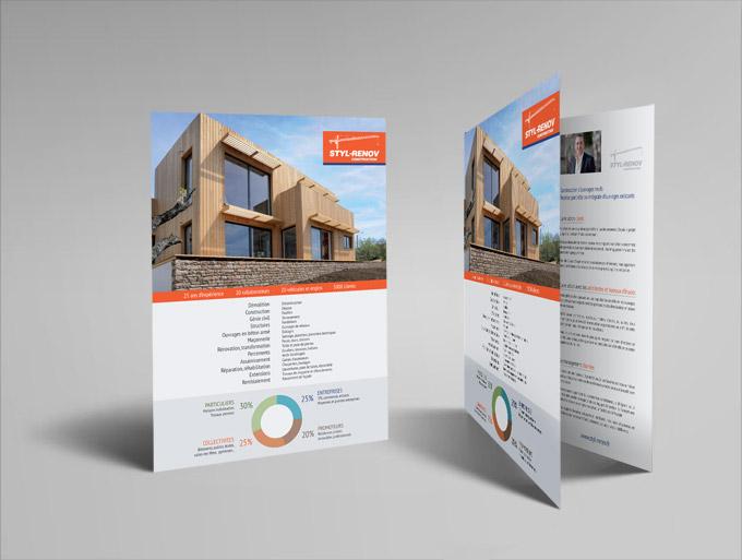 Populaire Création de plaquette de communication, brochure, catalogue à  RV76